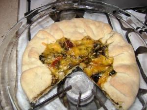 parsnip apple tart