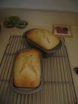 brioche loaves