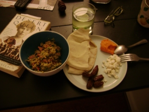 Eid Meal and a biography of Gertrude Bell