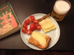 Pannukakku, beer, and a book on kick-ass women from the Middle Ages
