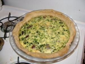 olive quiche