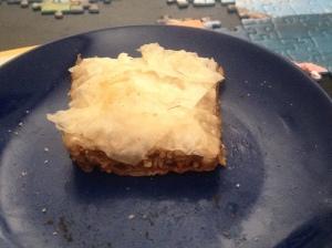 pine nut baklava