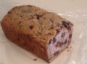 chocolate-chip zucchini bread