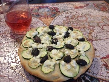 zucchini pizza thing
