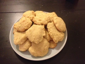 masa-lime cookies