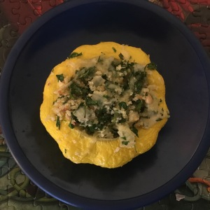 Stuffed pattypan